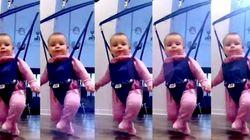 赤ちゃんが、本気でダンスを踊ってみせた。(動画)