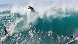 ハワイにこの冬最大のビッグウェーブが来た【画像】