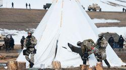 ダコタ・アクセス・パイプライン、デモの逮捕者46人に 拠点のキャンプから完全に排除