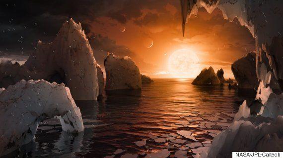 地球に似た7つの惑星を発見 39光年先に「生命が存在する可能性」