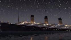 タイタニック号が沈む様子をアニメーションで忠実に再現(動画)