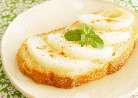 梨はトーストがおいしい!?新ムーブメント「梨トースト」が熱いっ!!