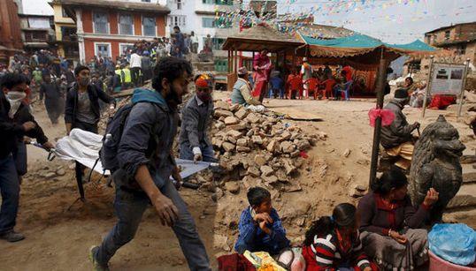 ネパール大地震から1年...震災当時と今を比べてみた【画像】