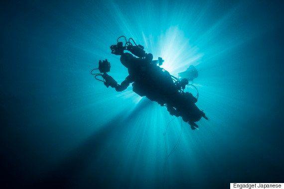 人型水中ロボットが水深100mに沈む17世紀の難破船調査に成功