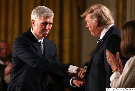 トランプ大統領、最高裁判事にゴーサッチ氏を指名 保守派が過半数に?