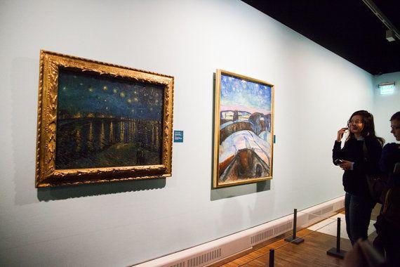 『叫び』を描いたのはだれ?世界初「ゴッホ+ムンク」展!オランダとノルウェーの王室も駆けつける