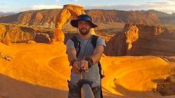 3年間世界を旅した男の壮大な自撮り動画