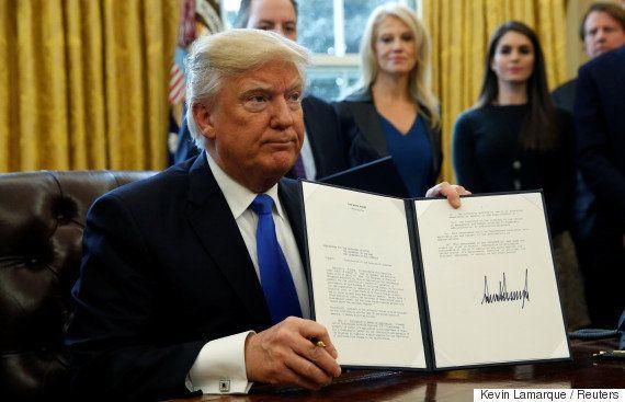 ダコタ・アクセス・パイプラインの対立再燃か トランプ大統領、建設再開の大統領令に署名