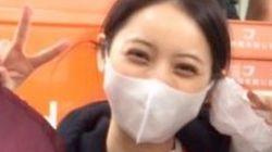 佐々木希さん、熊本県益城町で炊き出しに参加