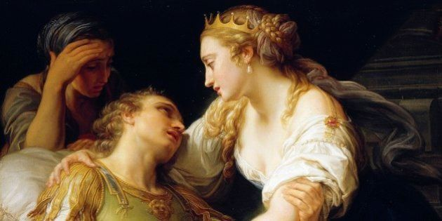 UNSPECIFIED - CIRCA 2003: The Death of Mark Antony, 1763, by Pompeo Batoni (1708-1787), oil on canvas,...