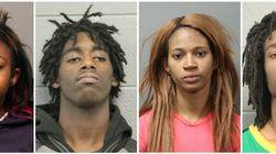 白人の知的障害者に暴行、Facebookで中継 黒人4人をヘイトクライムで逮捕