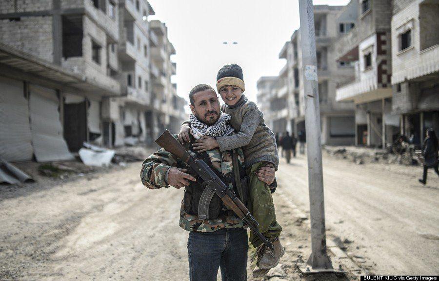 イスラム国から奪還した町コバニ、戦闘後の中心部はいま(画像)