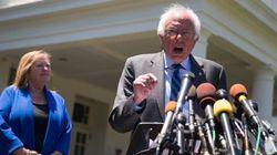 バーニー・サンダース氏、トランプ打倒への協力を誓う クリントン氏との連携は?【アメリカ大統領選】