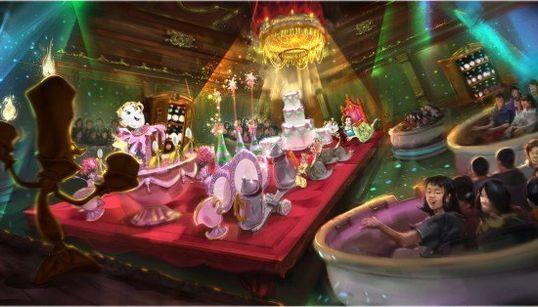 東京ディズニーランドに「美女と野獣」「ベイマックス」がやってくる(画像集)