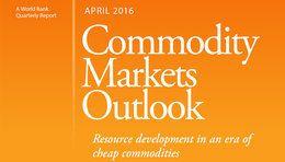 世界銀行が2016年の原油価格見通しを上方修正、農産物価格は下方修正