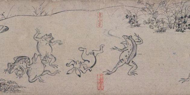 「鳥獣戯画」は誰がどこで描いた? 東京国立博物館に現存作品が集結(画像)