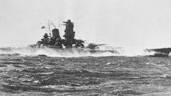 戦艦大和の最期から71年