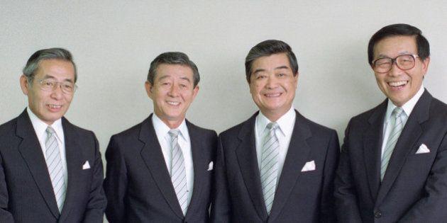 喜早哲さん死去 ダークダックスの「ゲタさん」、ハーモニーが人気