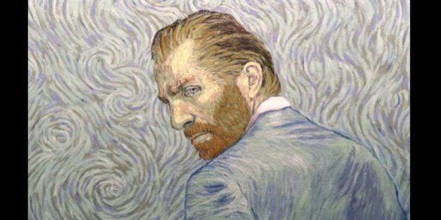 まるでゴッホの絵が動いているような油彩画のアニメーション(動画)