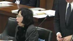 松島みどり氏、国会中に居眠り、ケータイ、大あくび...ネットで拡散し陳謝