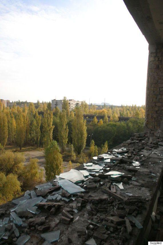 チェルノブイリを調べる、たった一人の考古学者「古代の遺跡と同じくらい価値がある」(画像集)