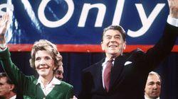 ナンシー・レーガンさん死去、94歳 女優を経てファーストレディーに