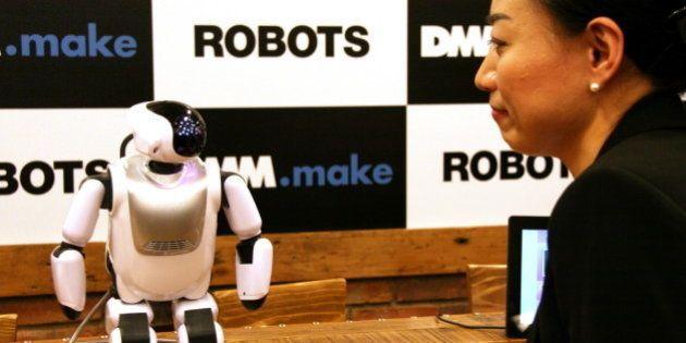 DMMがロボット事業に参入