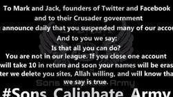 「イスラム国」を支援するハッカーグループ、過激派対策を強化するTwitterとFacebookのCEOを脅迫