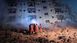 中国・深圳の工業団地で大規模な土砂崩れ、59人行方不明