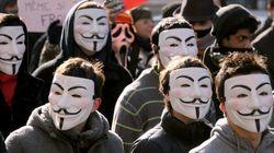 アノニマス、安倍首相の個人サイトをサイバー攻撃か 犯行声明の内容は?