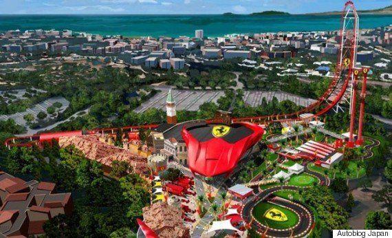 フェラーリ、第4弾のテーマパークを北米に建設か?