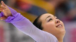 浅田真央、笑顔で「ただいまでーす」