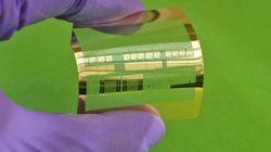 ペットボトル用フィルムに集積回路を構築する技術とは?