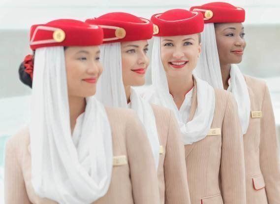 超豪華なエミレーツ航空、客室乗務員になる秘訣とは...