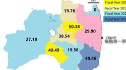 「福島の子供の甲状腺がん発症率は20~50倍」