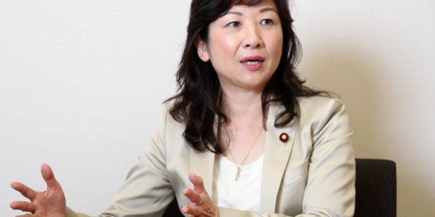 Seiko Noda, a lawmaker from the Liberal Democratic Party (LDP), speaks during an interview in Tokyo,...