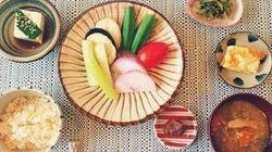 朝食美人:宇藤えみさん友人にも好評の、華やか朝ごはん。