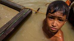 手掘り金採掘で死の危険に直面するフィリピンの子どもたち【動画あり】