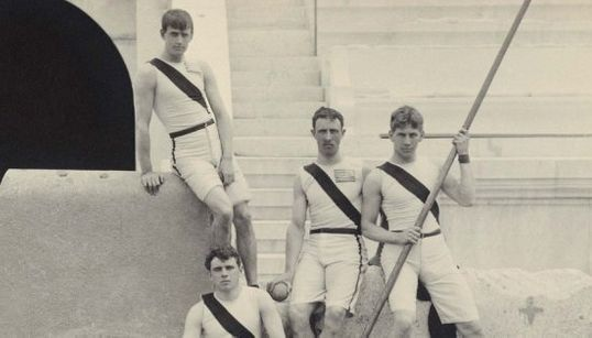 ギリシャで行われた最初の近代オリンピック、1896年の大会が写真でよみがえる。(画像集)