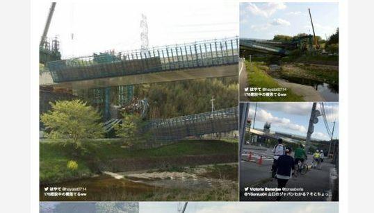 神戸市の新名神高速で橋桁落下 1人死亡、9人が重軽傷【画像】