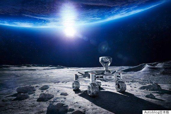 「ルナ・クワトロ」アウディの探査ローバー、2017年末までに月面着陸を目指す(動画)