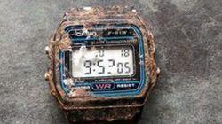 20年ぶりに発見されたカシオの腕時計、丈夫な姿に世界が反応