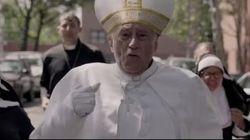 ローマ教皇フランシスコ、環境問題と戦うスーパーヒーローに?(動画)