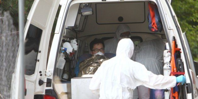 A South Korean patience suspected of suffering from Middle East Respiratory Syndrome (MERS) is admitted...
