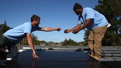 「温室効果ガスを出したら、貧しい人にソーラーパネルを設置してね」