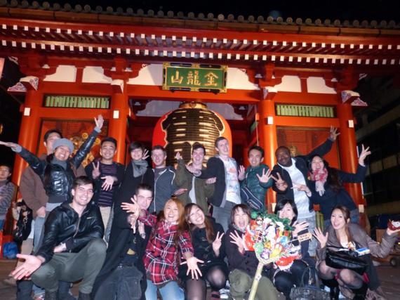 2014年アジアNo1ゲストハウスに輝いた「カオサン東京・浅草