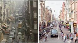アムステルダム、自転車促進で街並みが激変【30年前との比較画像】