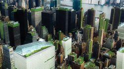 もしもニューヨークが自給自足の町になったら【画像】