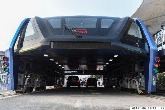 中国に「走るトンネル」出現?