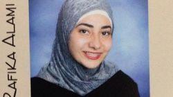 「私がヒジャブを被る理由、それは...」女子高生のユーモアあふれるメッセージ
